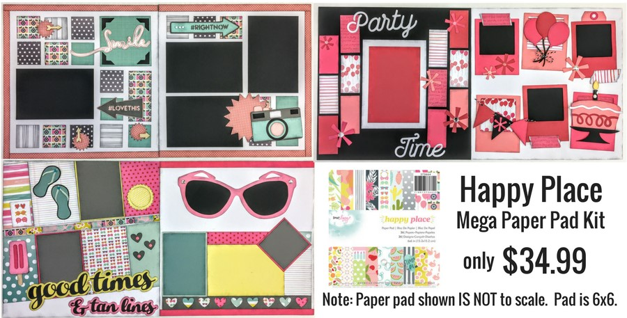 Paper Pad Mega Kit #2 - Happy Place 6x6