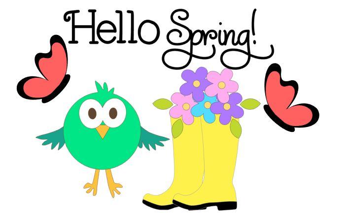 Hello Spring Cutouts