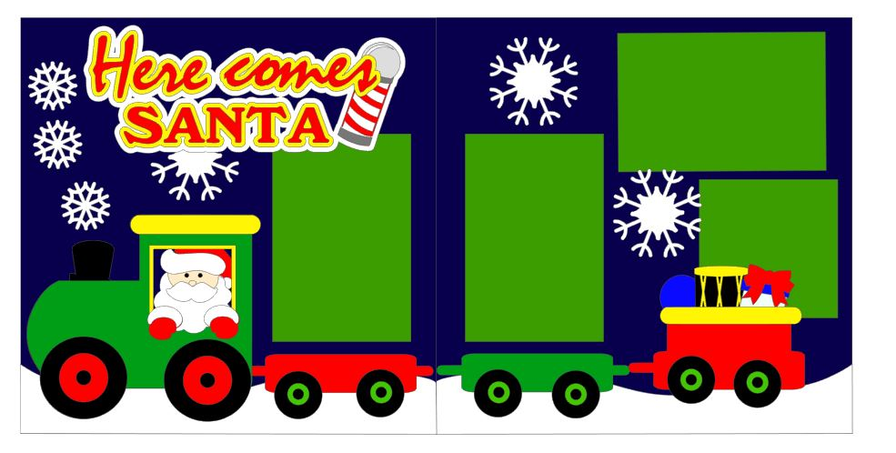 Here Comes Santa Claus - Train