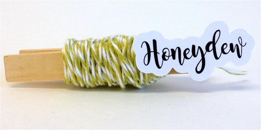Honeydew Stripe Baker's Twine