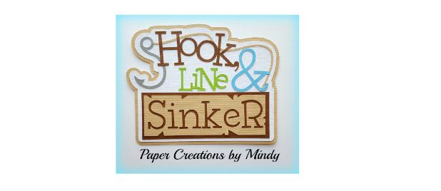 Hook Line and Sinker Paper Piecing