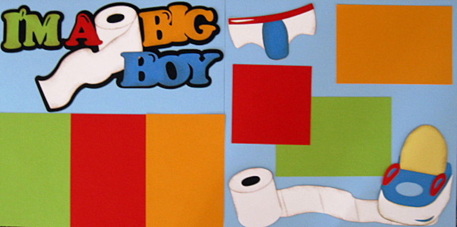 I'm A Big Boy - Retired Limited Quantities