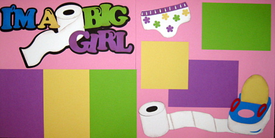 I'm A Big Girl - Retired Limited Quantities