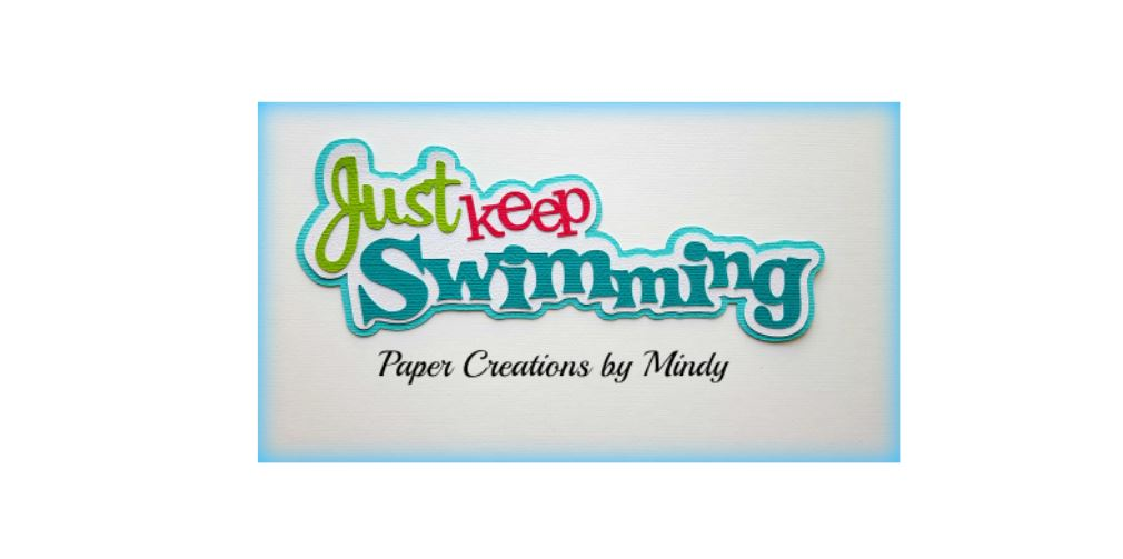 Just Keep Swimming Paper Piecing