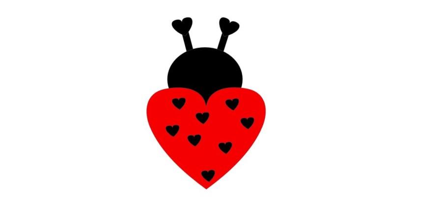Ladybug Valentine Kit Qty 10