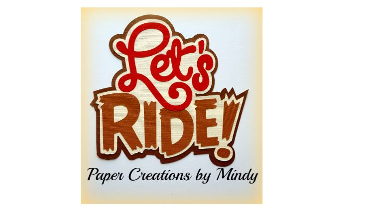 Let's Ride Paper Piecing