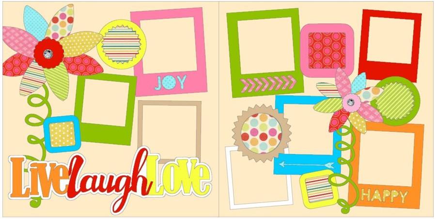 Live Laugh Love CC Deluxe Kit