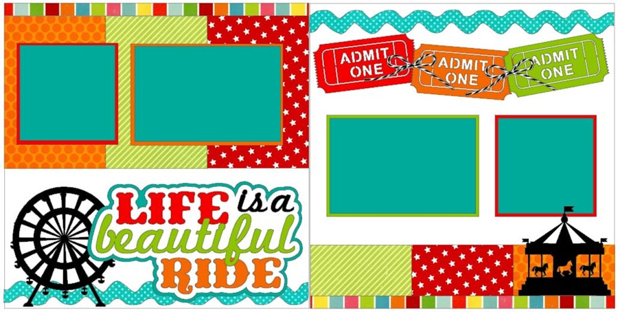 Life is a Beautiful Ride CC Deluxe Kit