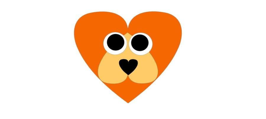 Lion Valentine Kit Qty 10