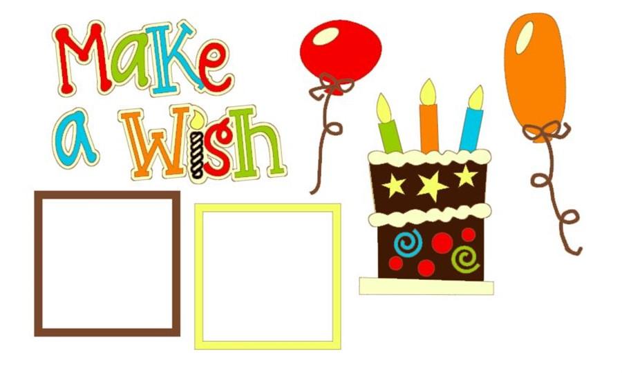 Make a Wish Cutouts CC