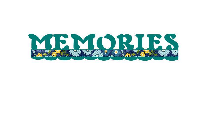Memories Title Cutout