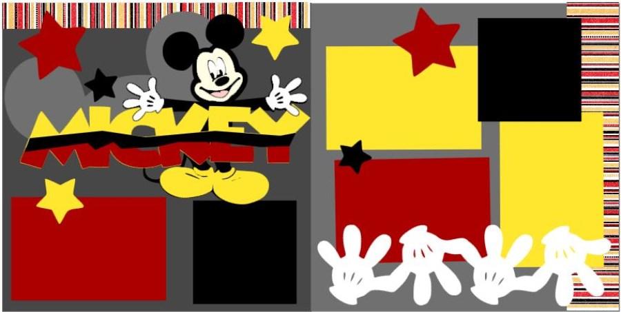 Mickey Stripes