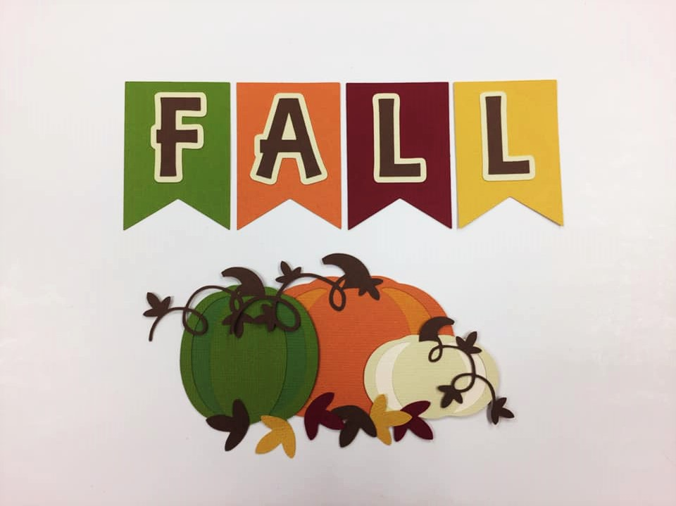 Fall Pumpkins Cutouts