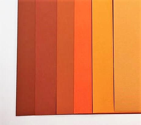 Orange Pack 12 sheets