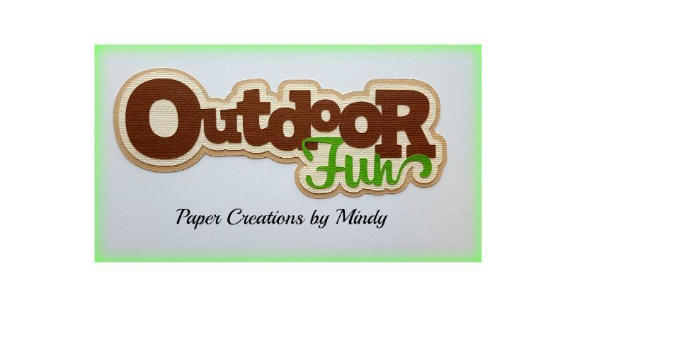 Outdoor Fun Paper Piecing