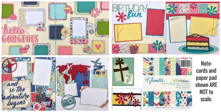 Paper Pad Mega Kit #1 - STARshine 6x6 ONLY 1 LEFT!!!