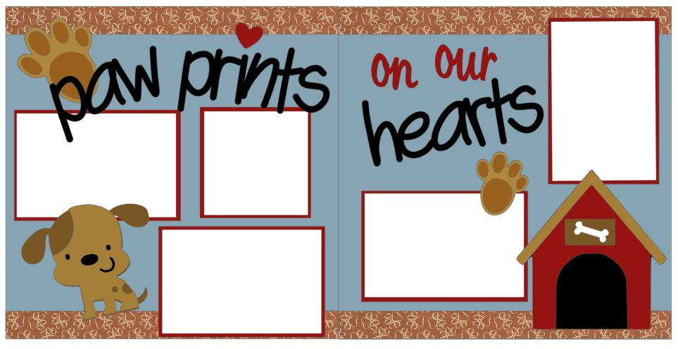 Paw Prints On Our  Hearts
