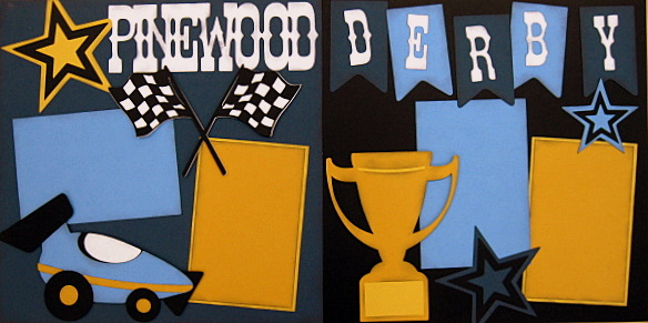 Pinewood Derby Blue Version - Clearance