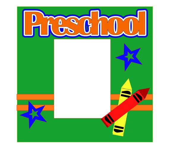 Preschool Add on Single 12 x 12 kit for School Days Album Set