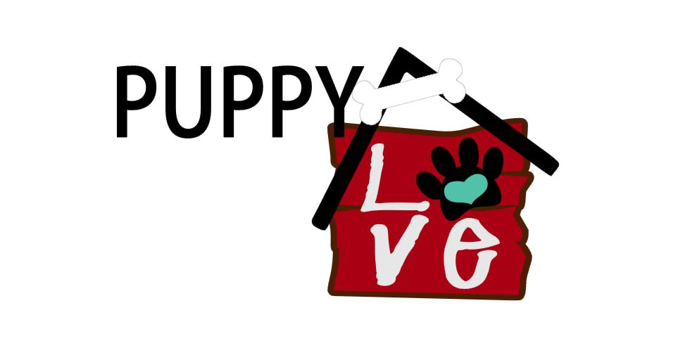 Puppy Love Title Cutout