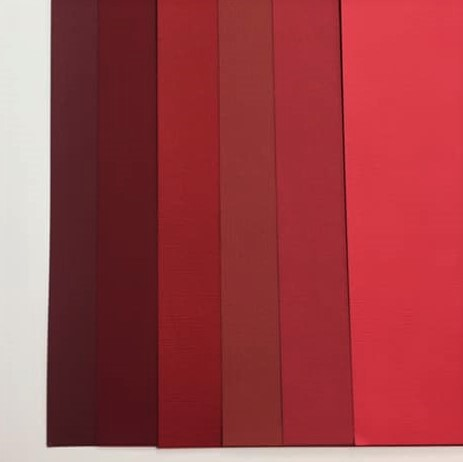Red Color Pack 12 sheets
