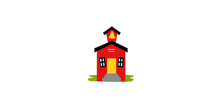 School House Cutout