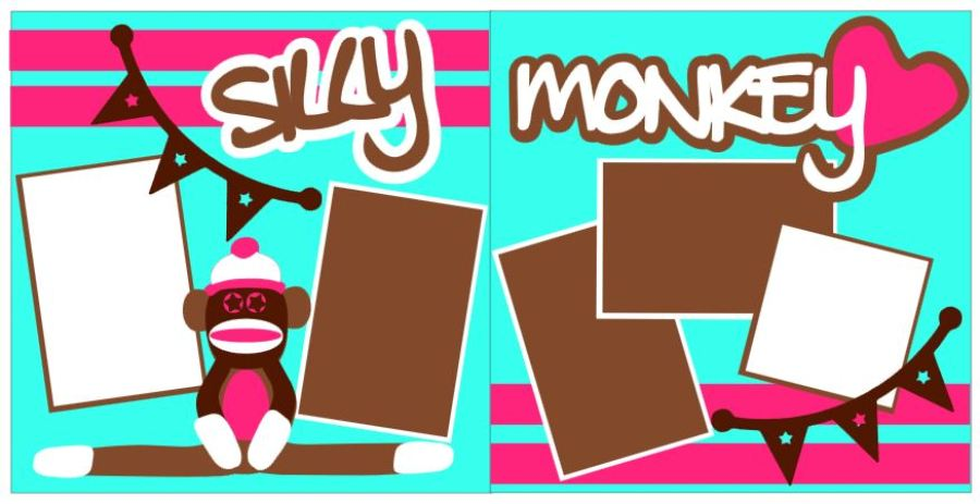 Silly Monkey Pink