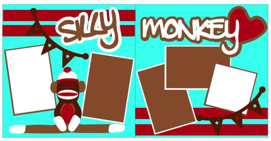Silly Monkey Red