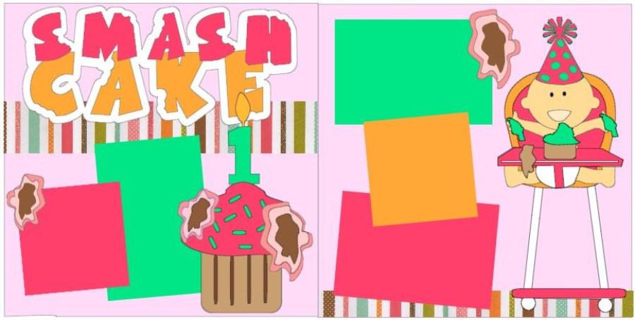 Smash Cake Girl