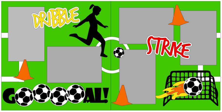 Soccer Goal Girl Player