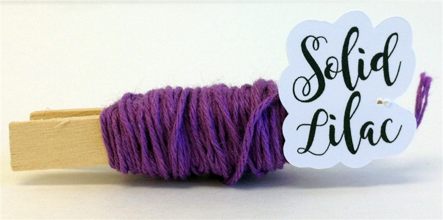 Lilac Solid Baker's Twine