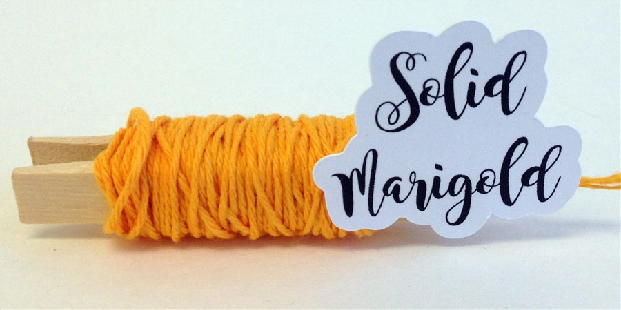 Marigold Solid Baker's Twine