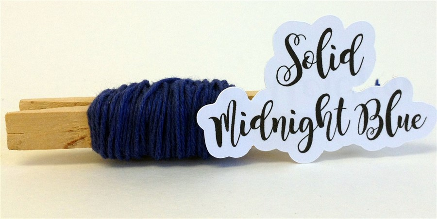 Midnight Blue Solid Baker's Twine