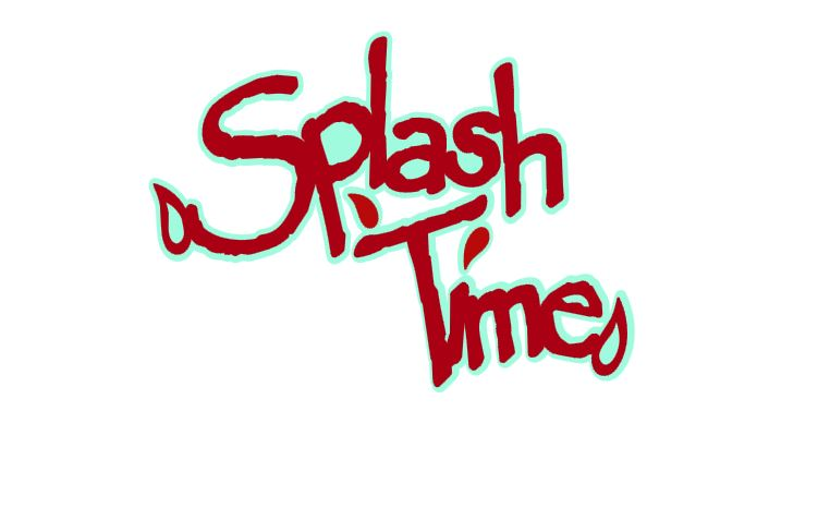 Splash Time Title Cutout