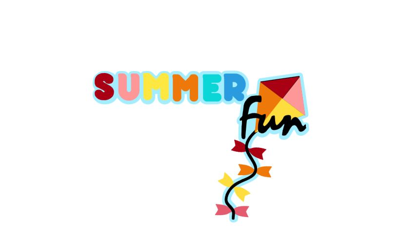 Summer Fun Title Cutout