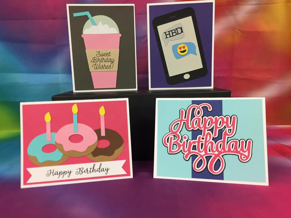 Birthday Girl Card Kit