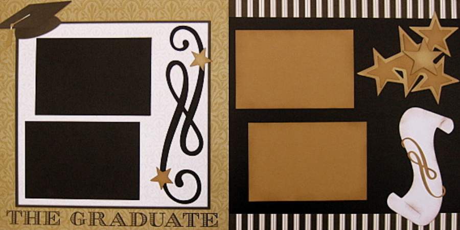 The Graduate Gold and Black - Clearance