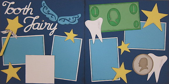 Tooth Fairy with Money - Clearance