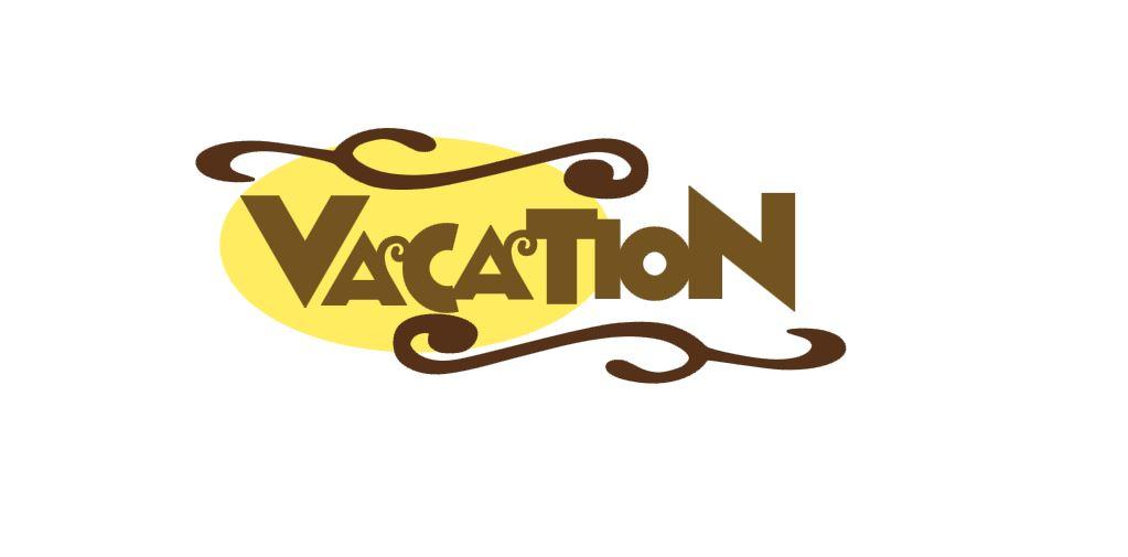 Vacation Title Cutout B