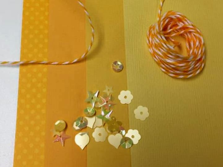 Yellow Paper Flower Kit