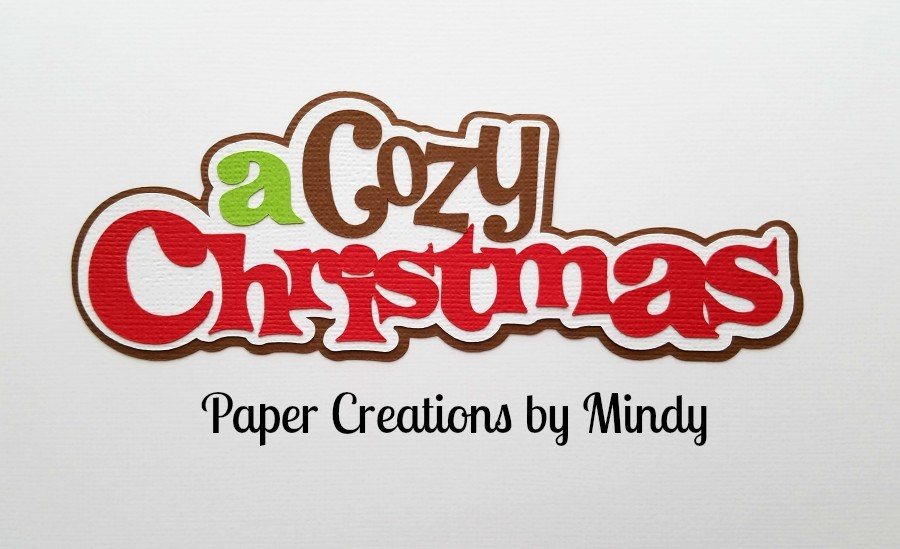 A Cozy Christmas mkc Paper Piecing