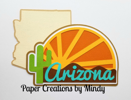 Arizona State Title Paper Piecing