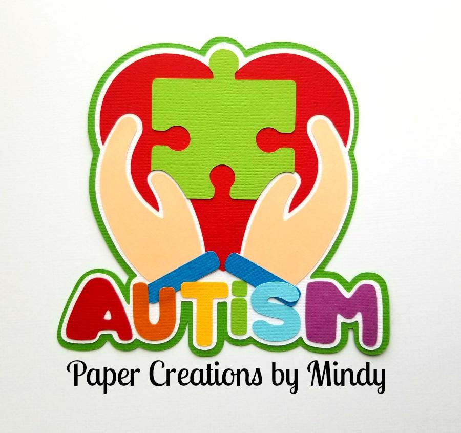 Autism Title Paper Piecing
