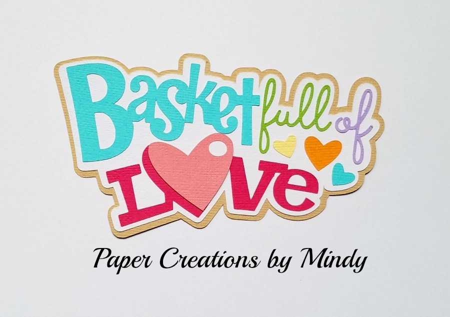 Baskets Full Of Love Paper Piecing