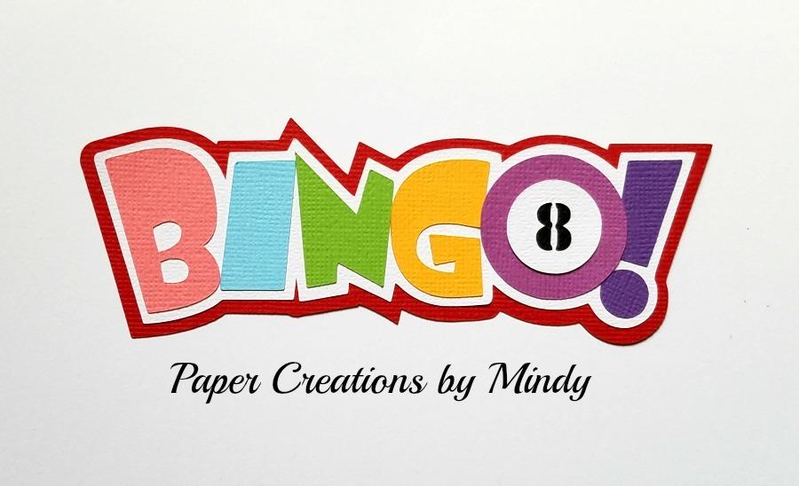 Bingo Title Paper Piecing