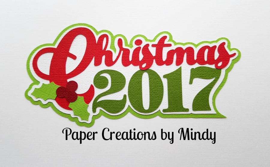 Christmas 2017 Paper Piecing