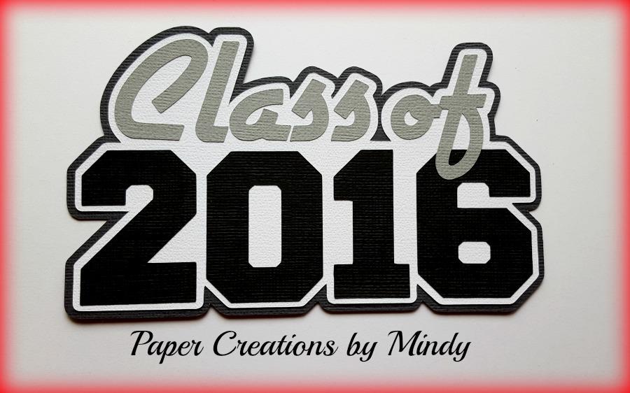 Class of 2016 Paper Piecing