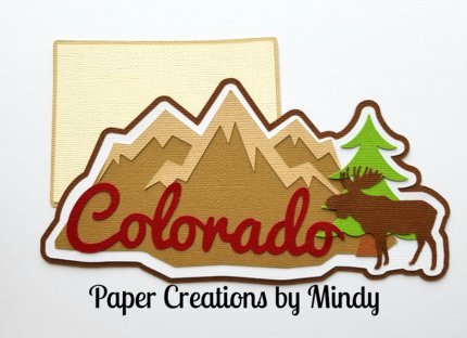 Colorado State Title Paper Piecing