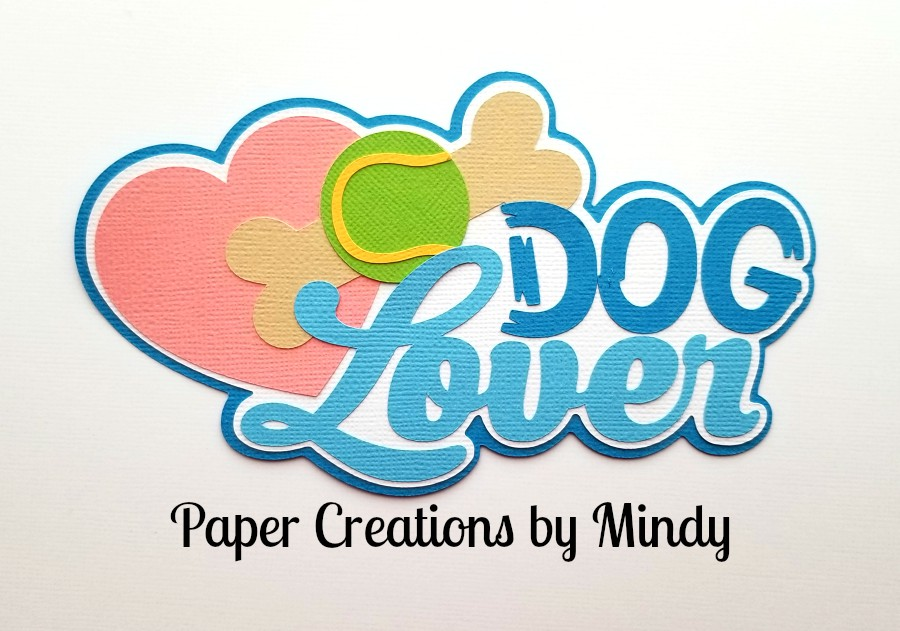 Dog Lover Title Pape Piecing