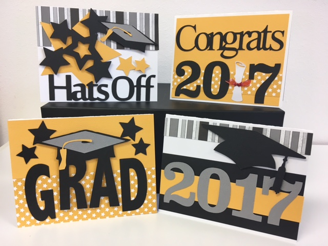 Graduation Card Kit 2017